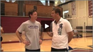 Tom Black Volleyball Practice  1 - Outside and Middle Hitter Tutor Volleyball Drills