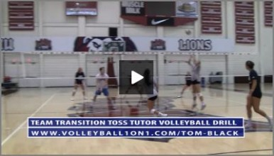 Transition Toss Volleyball Drill with Tom Black