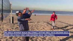 Tri-Angle-Warm-Up-Beach-Volleyball-Drill,-Focus-on-Setting-with-Anjinho-Bacil-Video-2-391