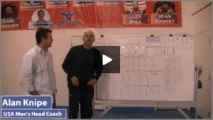 USA Mens Volleyball Practice Plan and Drills with Alan Knipe 1 - Part 1