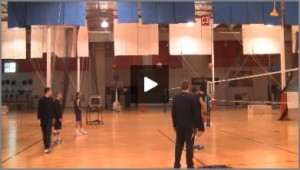 USA Mens Volleyball Practice Plan and Drills with Alan Knipe 1 - Part 2