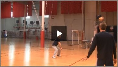 USA Mens Volleyball Warm Up Passing Drills