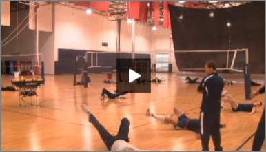 USA Volleyball Dynamic Core Warm Up and Injury Prevention Drill