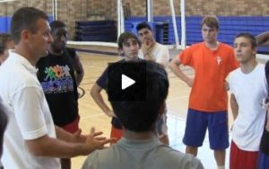 Uni High School Volleyball Coaching Nightmares - Final Huddle and Review - Practice 1