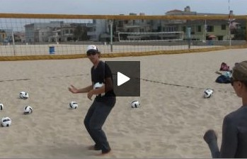 Using Spring for Beach Volleyball Setting