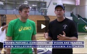 Shawn Patchell discusses coaching volleyball vision and reading the game.