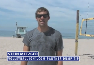 Volleyball Etiquette, Dumping Your Partner
