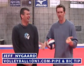 Volleyball Hitting How To, The Bic and Pipe History