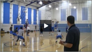 Volleyball Practice Plan Mens Indoor With Al Scates #1 - Part 3