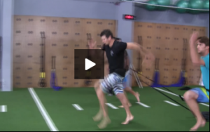 Volleyball Sled Marches and Resisted Skip Exercise Drills