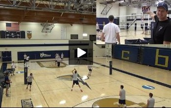 Wes Schneider - Volleyball Tennis Drill