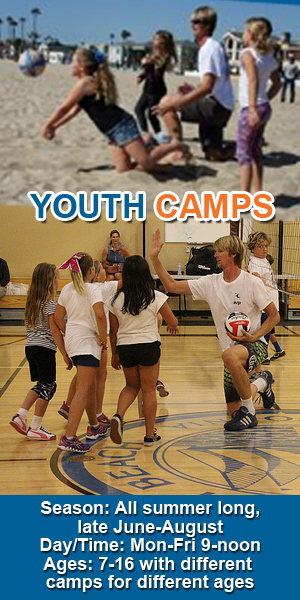 Youth Volleyball Camps