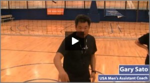 Youth Over the Net Pepper Multi Skill Volleyball Drill with Progressions by Gary Sato