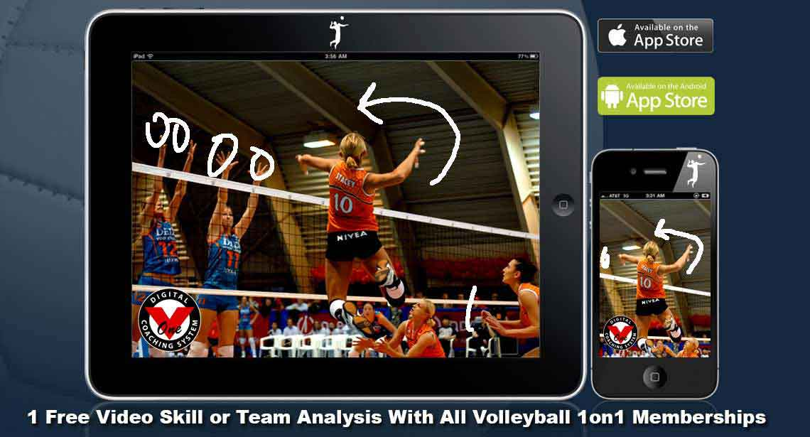 Free Skill or Team Evaluation with Volleyball1on1 Membership - Click for Details!