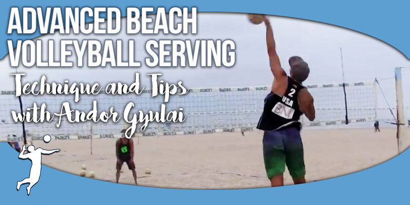 volleyball serving for beginners