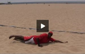 Beach Volleyball Defense with Steve Anderson - Video 3 Movement and Footwork