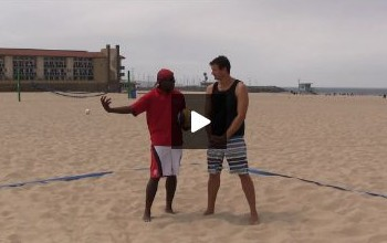 Beach Volleyball Passing - Video 5 Indoor vs Beach