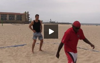 Beach Volleyball Passing - Video 6 Recovery