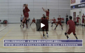 Bill Ferguson - 6 on 6 Breakpoint Drill - Part 1