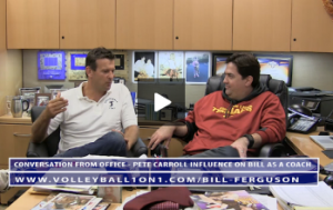 Bill Ferguson - Conversation From Office - Pete Carroll Influence on Bill As a Coach