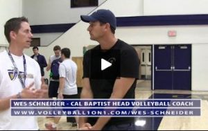 Cal Baptist End of Volleyball Practice Review with Wes Schneider