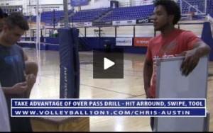 Chris Austin Take Advantage Of Over Pass Drill - Hit Around, Swipe, Tool