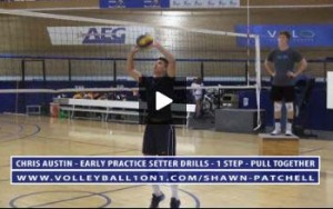 Chris Austin - Volleyball Setting Multi-Ball Stationary Drill, Plus Setting Drills Explained