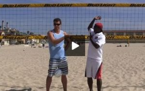 Coaching Beach Volleyball Spiking Technique Reviewed