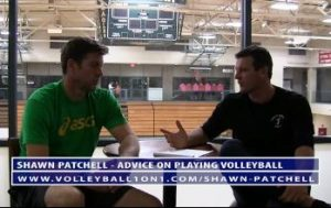 Conversation From Office - Shawn Advice for Playing College and Professional Volleyball