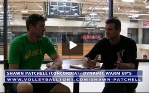 Conversation From Office - Shawn Patchell on Dynamic Volleyball Warm Ups