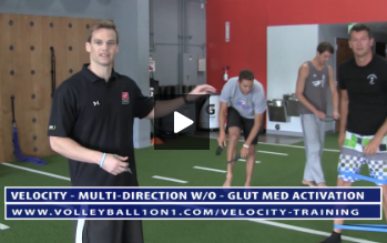 Glut Med Activation Exercises - Velocity Workout 3 - Multi-Directional
