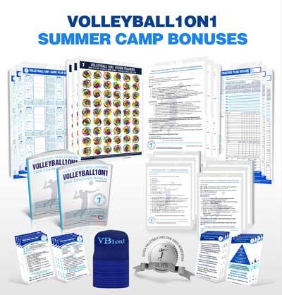 Volleyball1on1 Summer Camp Bonuses