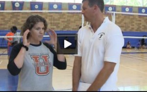 Kerri Second Volleyball Drill Completed and the Purpose Explained - Day 1