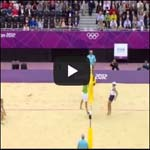 L vs. I Route and Offensive Strategy in Beach Volleyball
