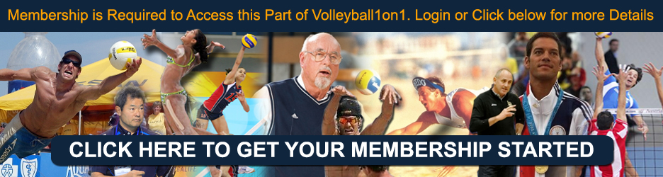 Click Here For Volleyball1on1 Membership Information