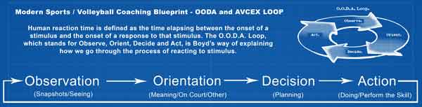 OODA and AVCEX Loop – Modern Volleyball Coaching Blue Print