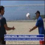 Sinjin Smith Shares Tips for Beach Volleyball Setting