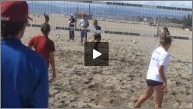 Beach volleyball training exercises (mladen stankovic coaching.