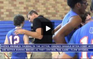Uni High Match Day - Between Match Sets Break - Tips for Coaching