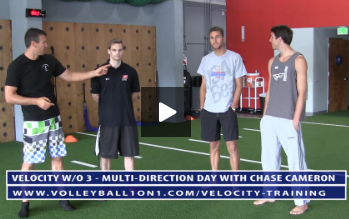 Velocity Workout 3 - Multi-Directional - Meet the Instructor Chase Cameron