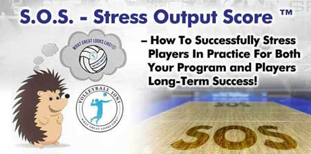 Volleyball1on1 Stress Output Score
