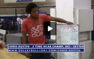 Volleyball Practice Introduction to Team with Chris Austin