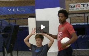Volleyball Setter Drill for Hand Position and Technique