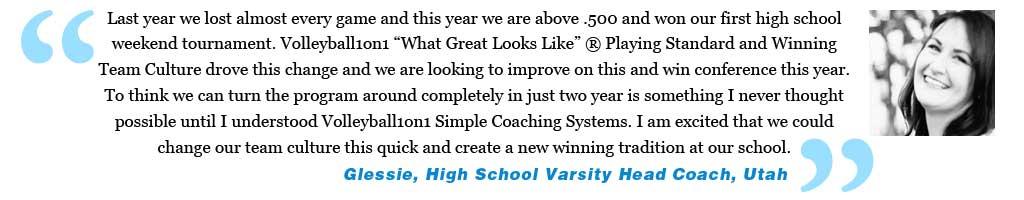 Testimonial High School Volleyball Camp